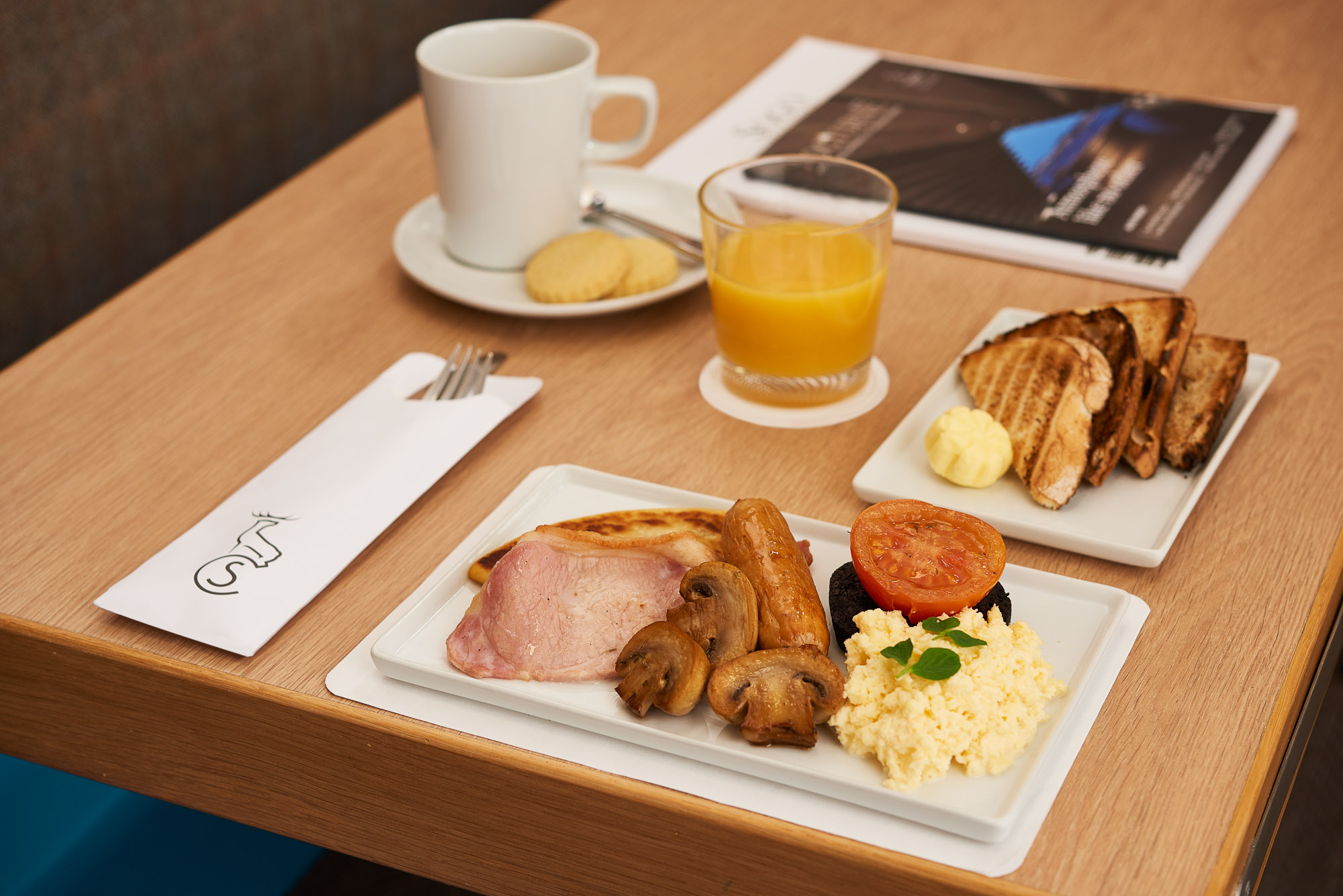 Food and Drink | Luxury travel with Caledonian Sleeper