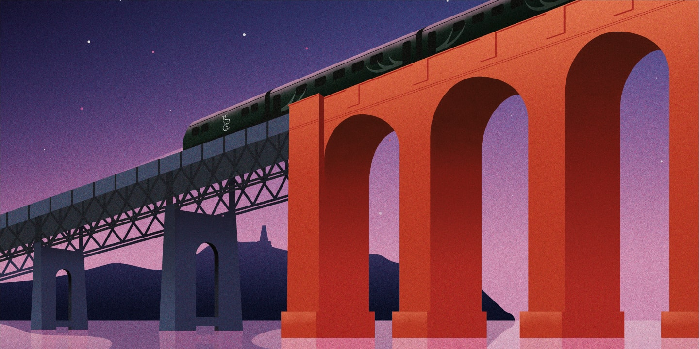 Caledonian Sleeper Posters | Journey of a night time Dundee