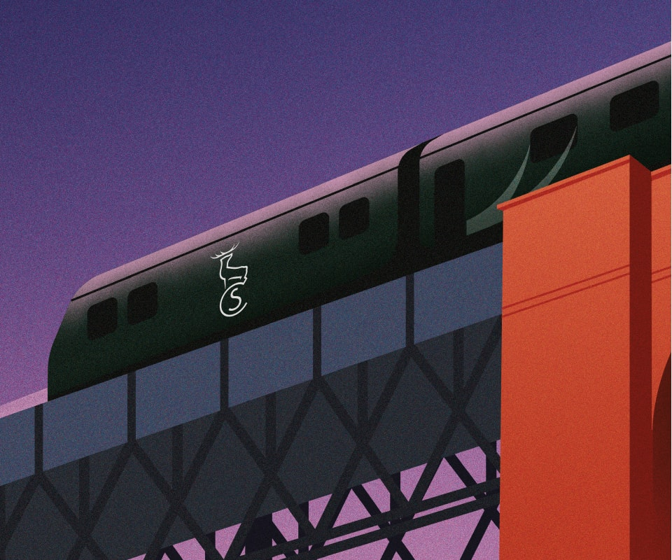 Caledonian Sleeper Posters | Dundee edition