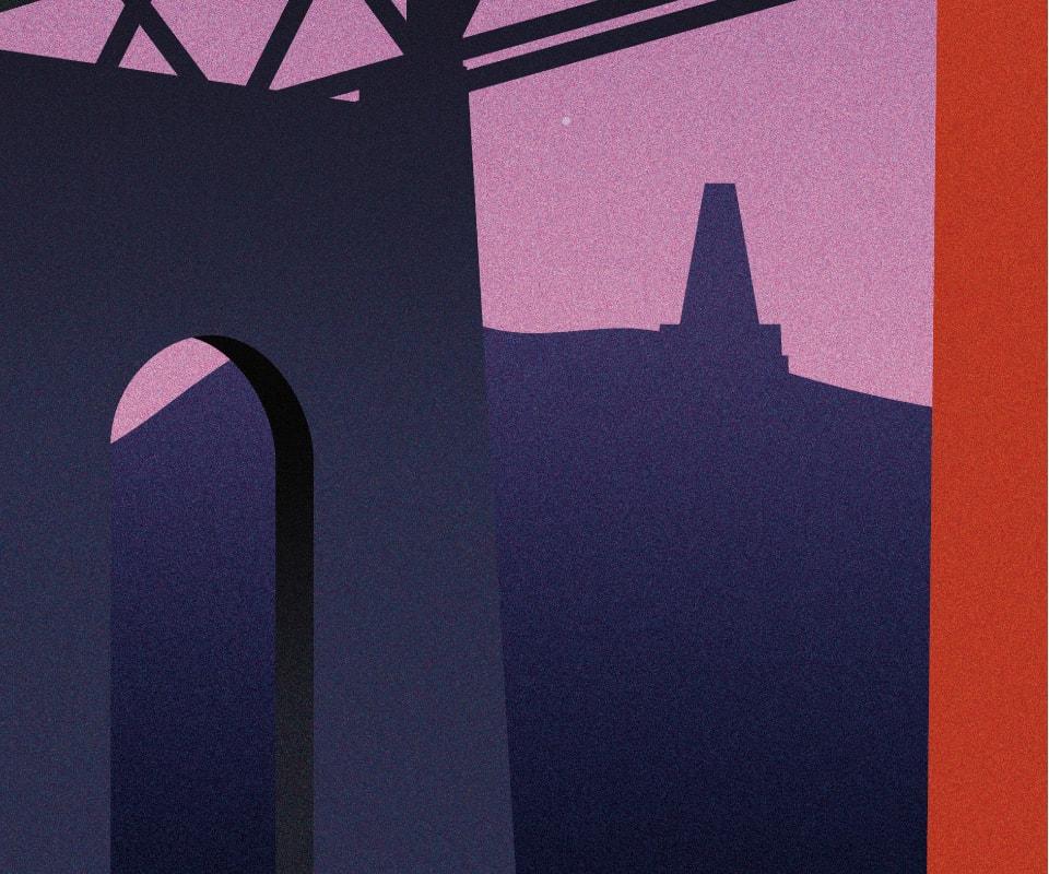 Caledonian Sleeper Posters | Dundee