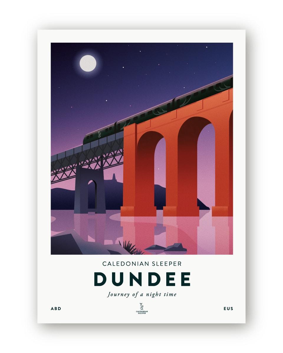 Caledonian Sleeper Dundee Poster