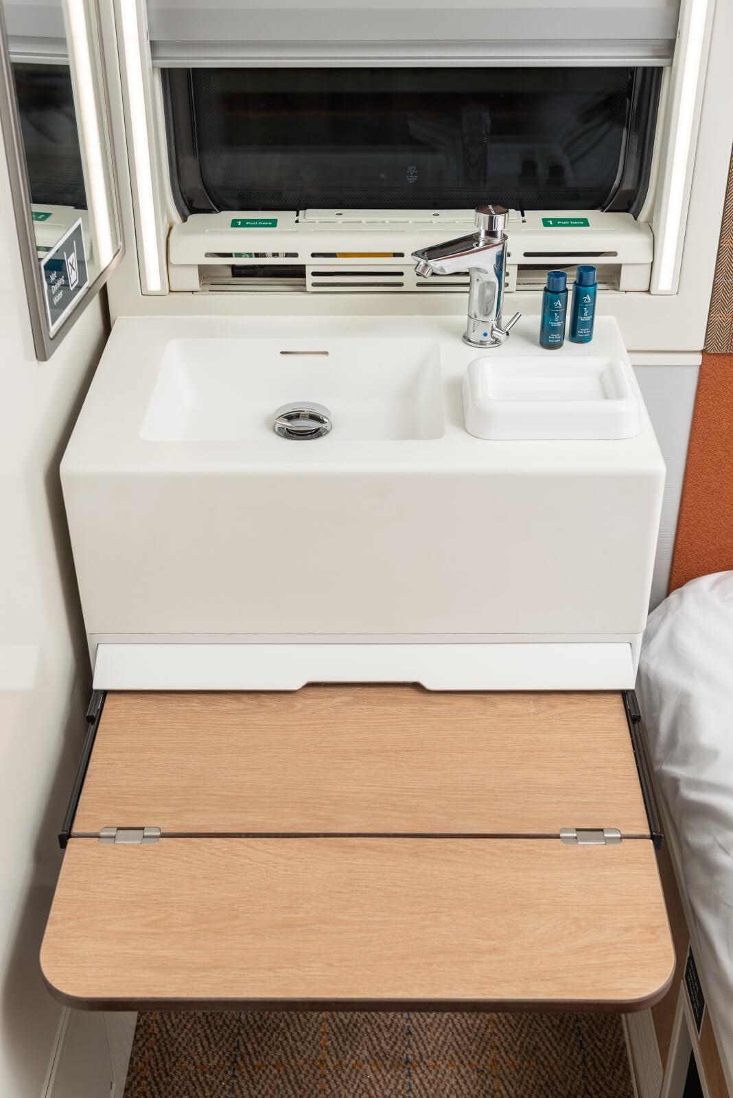 Washing facilities | Caledonian Sleeper