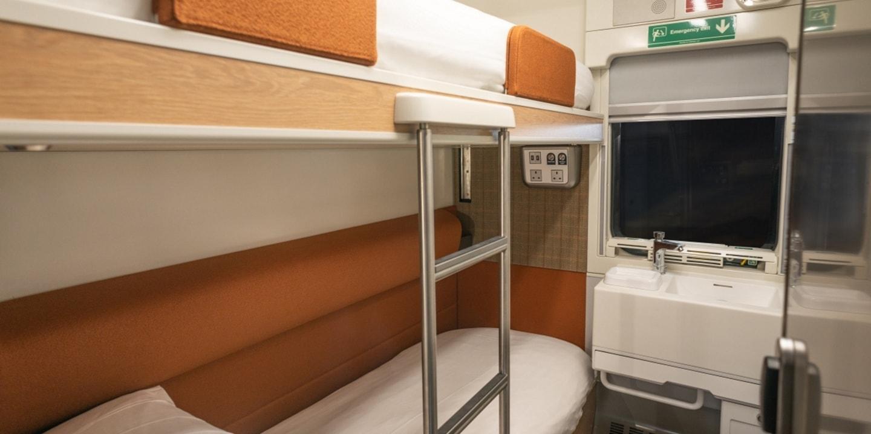 Caledonian Sleeper Accommodation | A hotel experience