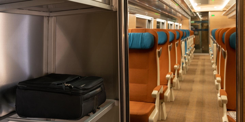 Caledonian Sleeper Comfort Seats