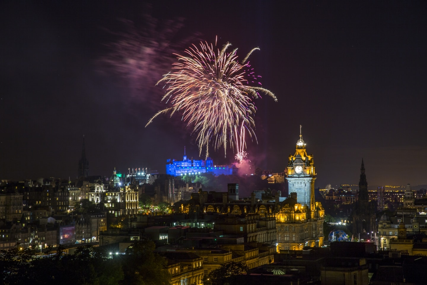 Visit Edinburgh on the Caledonian Sleeper