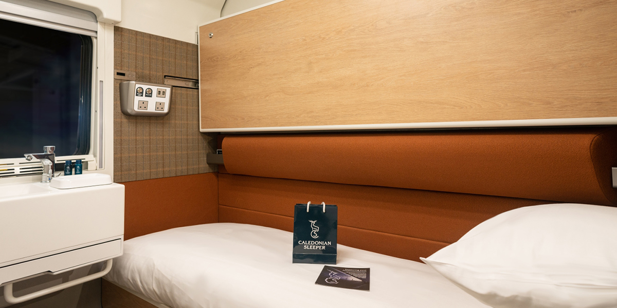 Caledonian Sleeper Accommodation | Luxury travel